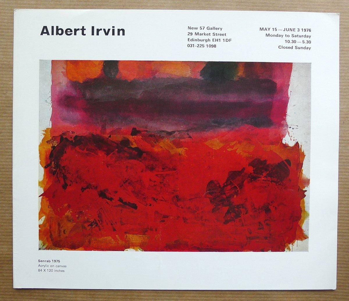 Albert Irvin obituary